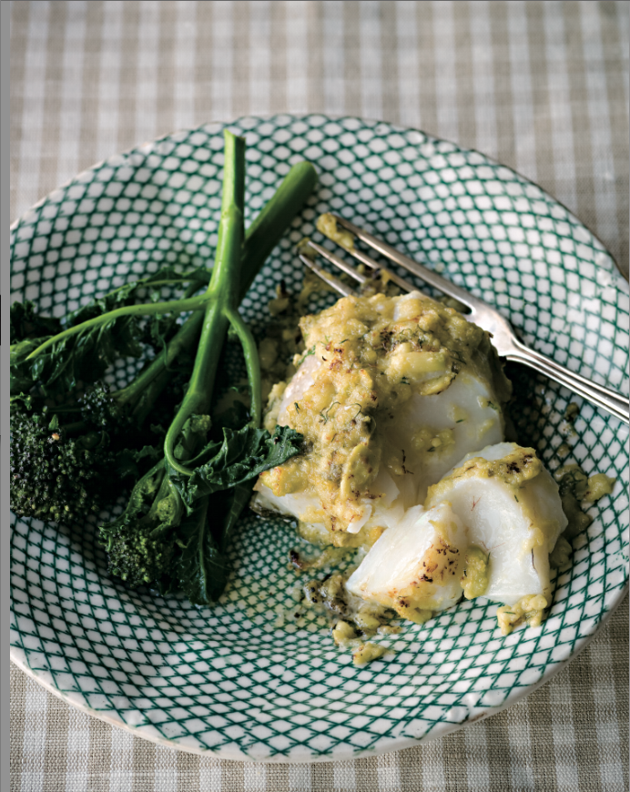 Grilled Norwegian Cod Mitch Tonks Signature Chefs recipe