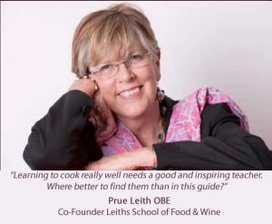 Prue Leith intro Gourmet Guide 2017