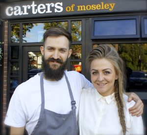 Chef Brad Carter with Partner Holly Signature Chefs