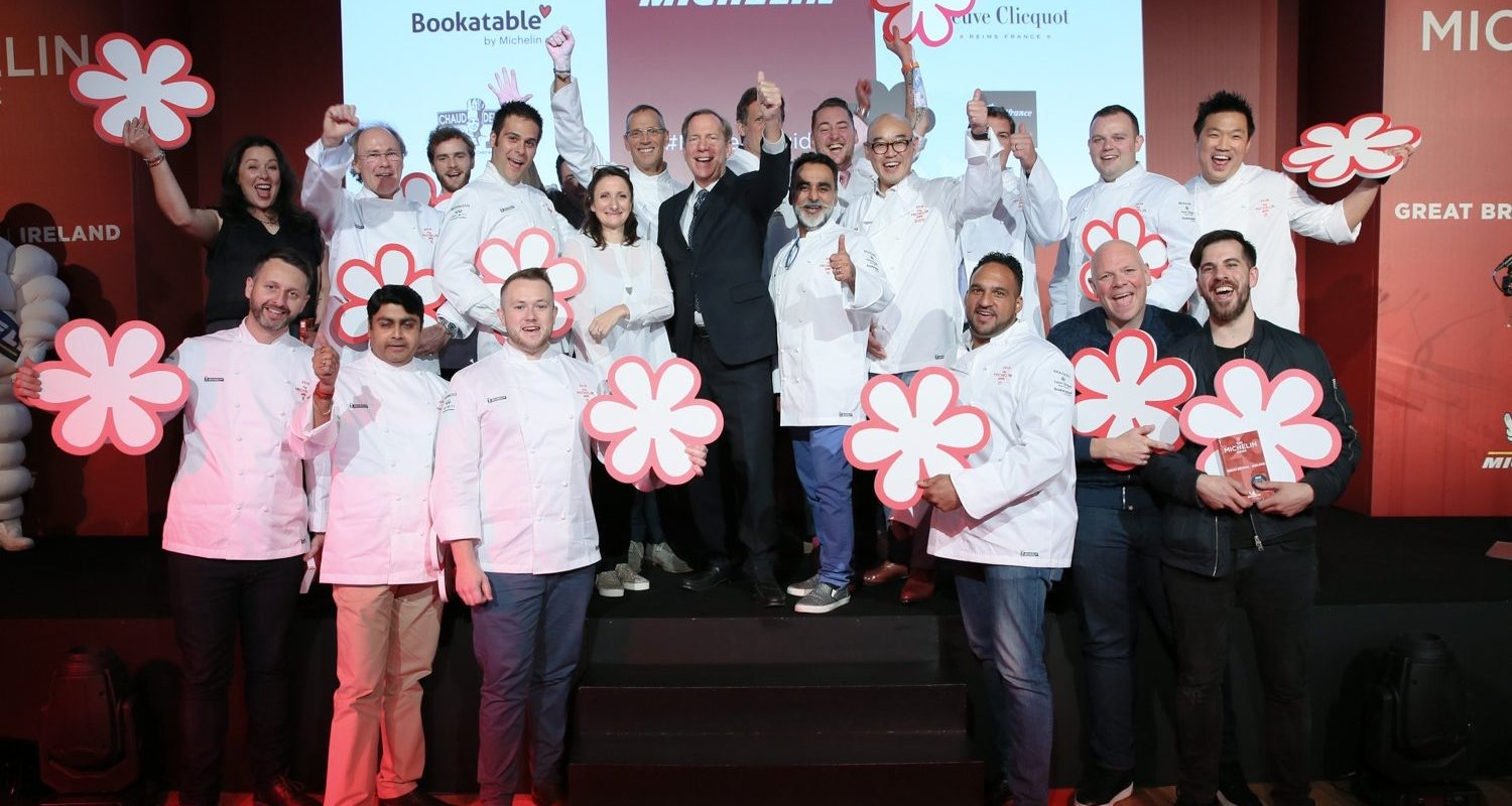 Michelin Guide Chefs 2018